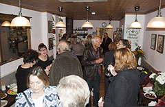 Shirley Hibberd book launch - crowd